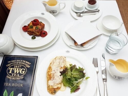 TWG cafe - brunch