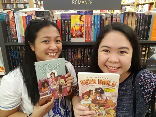 With Tina in Singapore - Kinokuniya