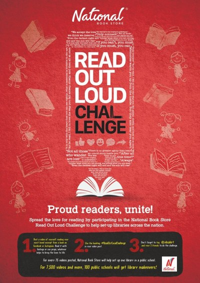 National Book Store ReadOutLoudChallenge